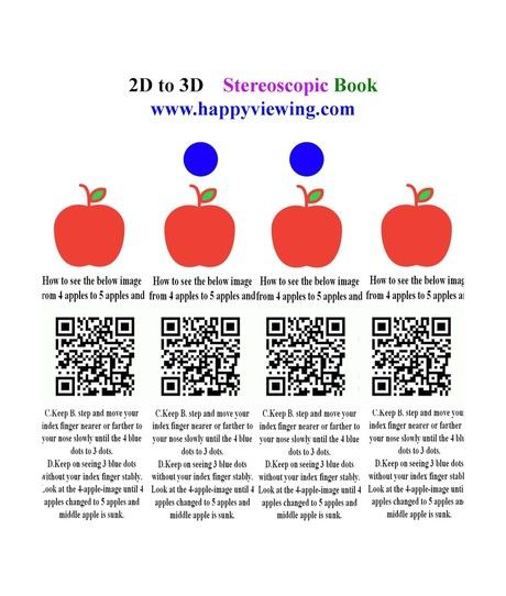 2D to 3D Stereoscopic Book_English