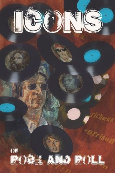 Oribit: Icons of Rock and Roll:Icons of Rock and Rock: Paul McCartney, John Lennon, Kieth Richards,