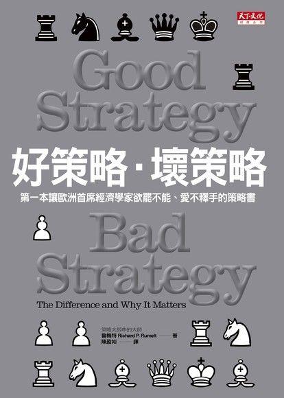 好策略壞策略(精裝)