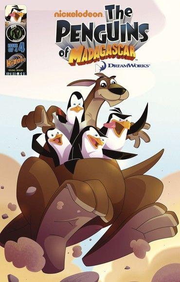 Penguins of Madagascar Vol.1 Issue 4