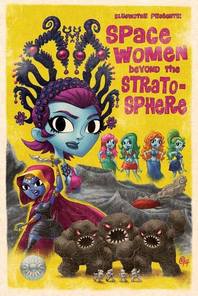 Space Women Beyond the Stratosphere Vol.1 # GN