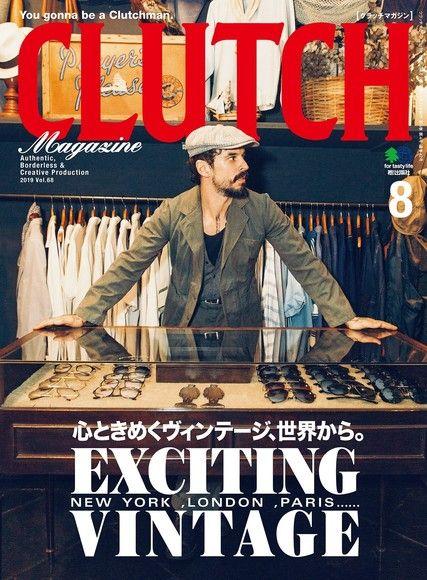 CLUTCH Magazine 2019年8月號 Vol.68 【日文版】