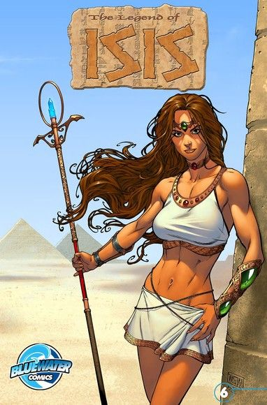 Legend of Isis Vol.1 # 6