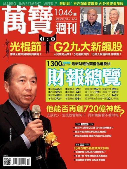 萬寶週刊 第1046期 2013/11/15