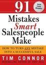 91 Mistakes Smart Salespeople Make