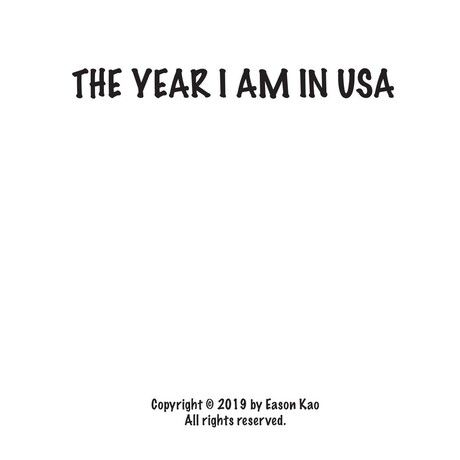 THe year i am in USA
