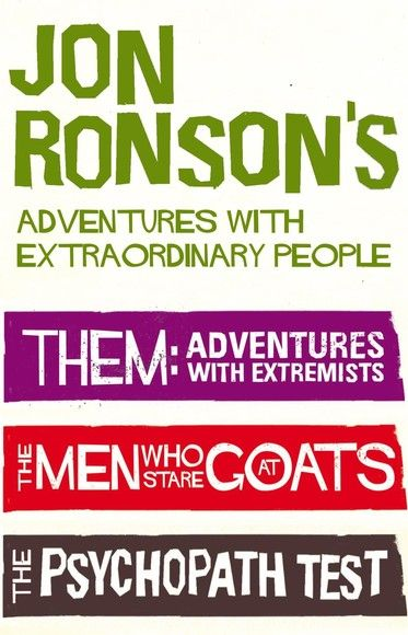 Jon Ronson's Adventures With Extraordinary People