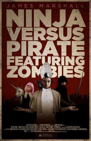 Ninja Versus Pirate Featuring Zombies