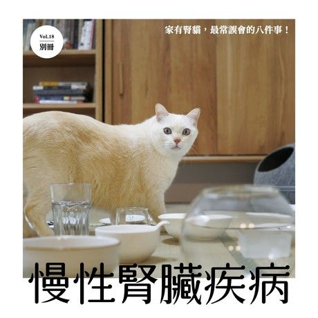 窩抱報 2019年第18期《貓慢性腎臟疾病》(別冊)