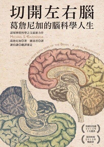切開左右腦: 葛詹尼加的腦科學人生