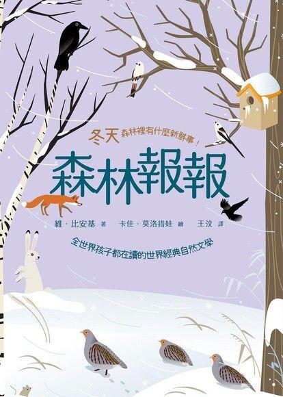森林報報:冬天,森林裡有什麼新鮮事!