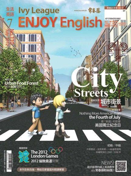 常春藤生活英語 07月號/2012 第110期