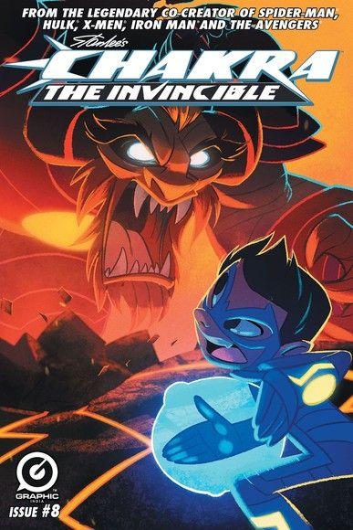 Stan Lee's Chakra The Invincible  #8