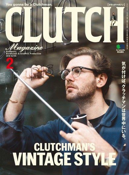 CLUTCH Magazine 2018年2月號 Vol.59 【日文版】