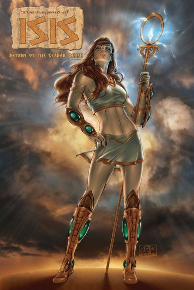 Legend of Isis: Return of the Scarab Queen Vol. 1 #GN