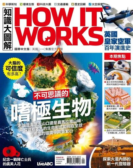 HOW IT WORKS知識大圖解國際中文版 04月號/2019 第55期