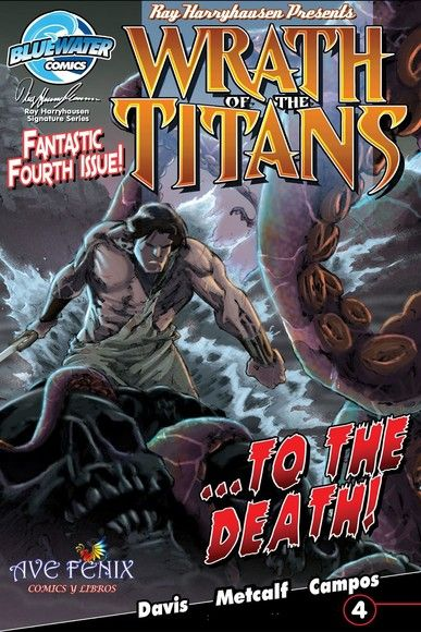 Wrath of the Titans (Spanish Edition) #4