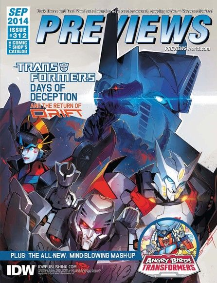 Previews September 2014 Issue 312