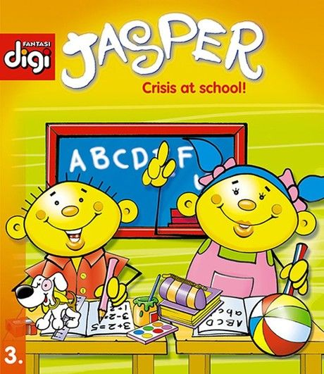Jasper series 3 - Crisis at School!
