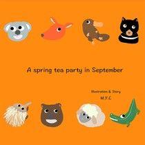 A spring tea party in September