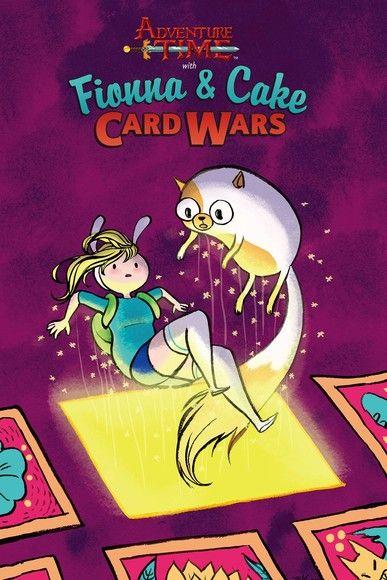 Fionna & Cake Card Wars
