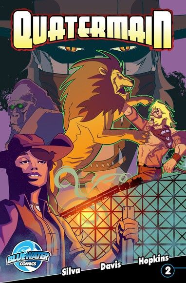 Quatermain: : Ghosts of the Nzadi Vol.2 # 2
