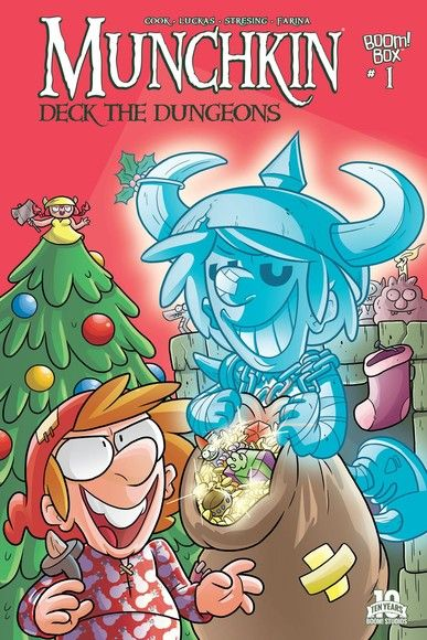 Munchkin: Deck the Dungeons #1