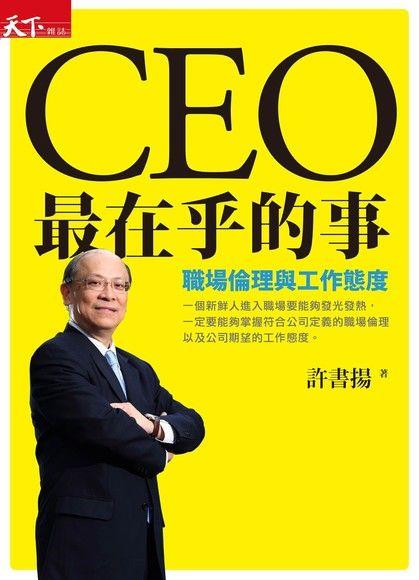 CEO最在乎的事