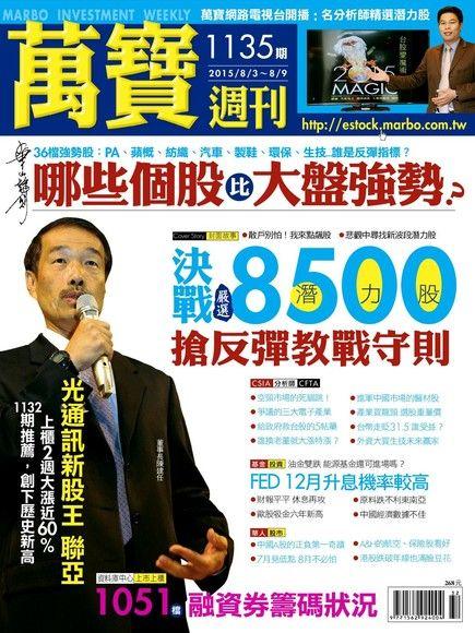 萬寶週刊 第1135期 2015/07/31