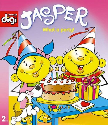 Jasper series 2 - What a party!