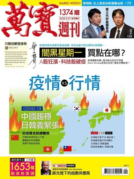 萬寶週刊 第1374期 2020/02/27