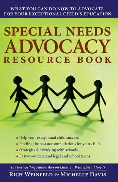 Special Needs Advocacy Resource Book