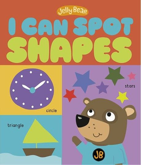 I Can Spot Shapes