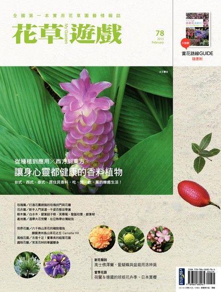 花草遊戲No.78:從種植到應用X西方到東方 讓身心靈都健康的香料植物