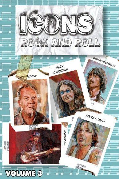 Oribit: Icons of Rock and Roll 3:  Metallica, Motley Crüe, Ozzy, George Harrison #1