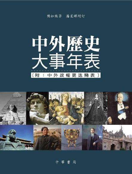 中外歷史大事年表