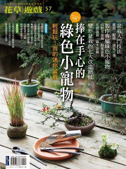 花草遊戲 No57:捧在手心的綠色小寵物~我的迷你盆栽