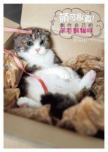 萌可亂真!創作自己的羊毛氈貓咪