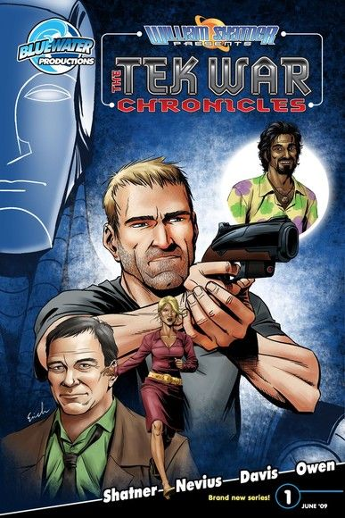 William Shatner Presents: The Tekwar Chronicles Vol. 1 #1