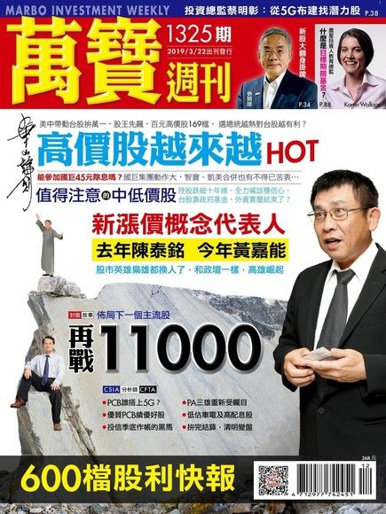 萬寶週刊 第1325期 2019/03/22