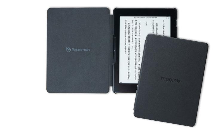 mooInk Plus 7.8 吋電子書閱讀器 E Ink 電子紙面板 磁感應翻蓋保護殼