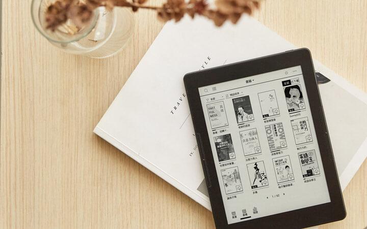 mooInk Plus 7.8 吋電子書閱讀器 近9萬本電子書,最多元的閱讀選擇