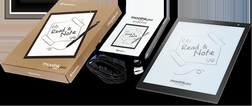mooInk Pro 10.3 吋電子書閱讀器 規格介紹視覺圖