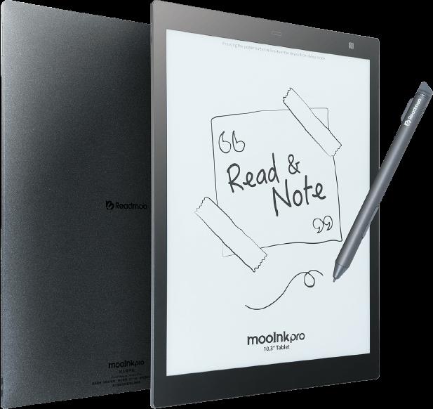 mooInk Pro 10.3 吋電子書閱讀器預購 主視覺