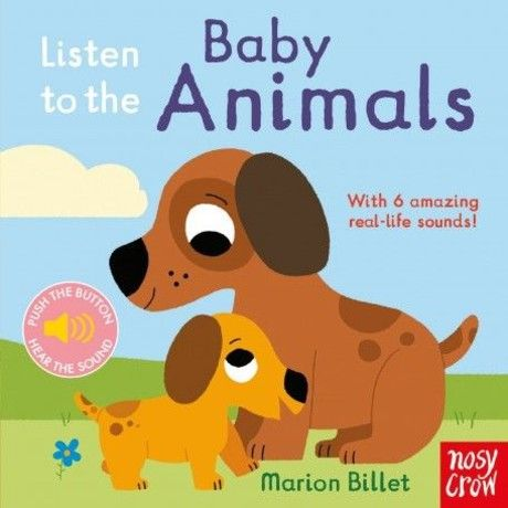Listen to the Baby Animals (硬頁音效書)