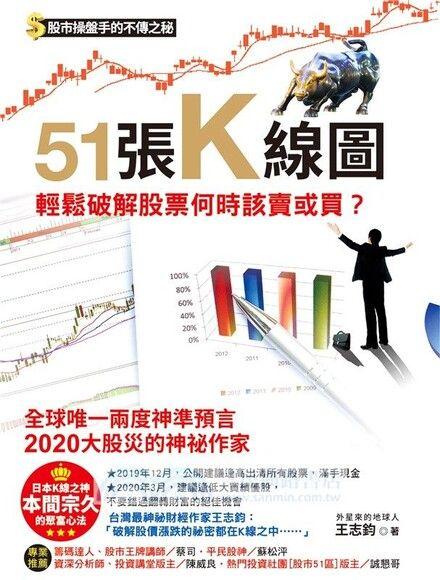 51張K線圖,輕鬆破解股票何時該賣或買?