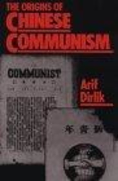 The Origins of Chinese Communism