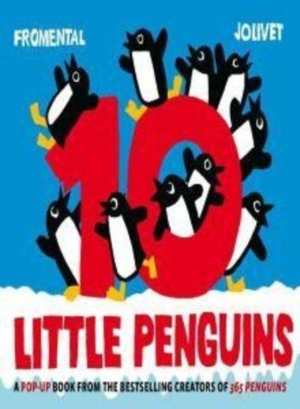 10 Little Penguins Pop-up