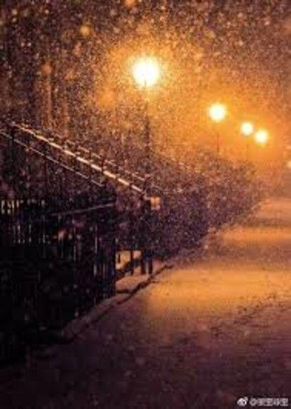 在暴雪時分