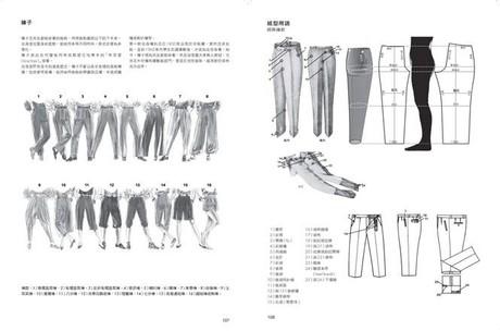 服裝打版製作實務(第一冊)如何製作女/男用裙褲與上衣